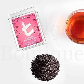 Dilmah Rose with French Vanilla 100g Ceylon Loose Leaf Black Tea