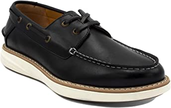 Nautica Men's Nueltin Casual Boat Shoe Loafer 2 Eye Lace Moccasins