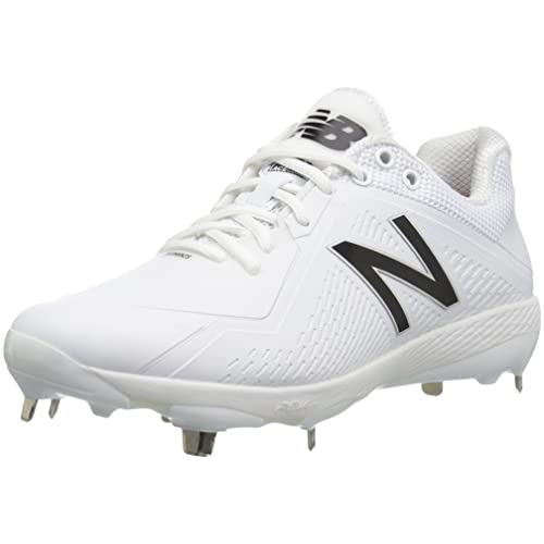 New Balance Mens L4040v4 Metal Baseball Shoe