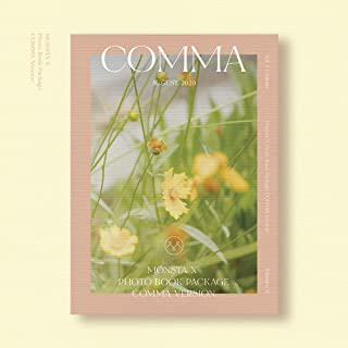 Monsta X - 2020 Photo Book [Comma ver.] Photobook+DVD+Extra Photocards Set