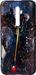 Elfagr Plastic Back Cover For Oppo Reno2 F - Multi Color - 2725614061206