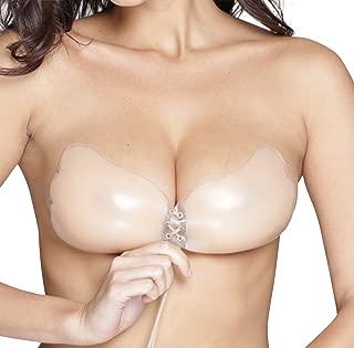 OOlala Backless Adhesive Sticky Strapless Silicone Nude Nubra Pushup Bra