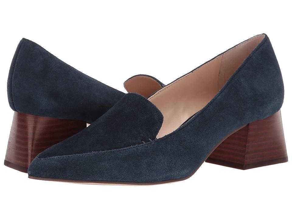 SOLE / SOCIETY Mavis (Ombre Blue Cow Split Suede) High Heels