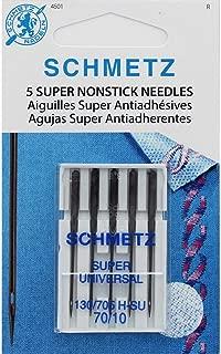 SCHMETZ 5 Super NONSTICK Needles (70/10)