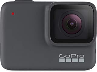 GoPro  Hero7  Silver  -  Cámara  de  Acción Sumergible hasta 10m Pantalla  Táctil  Vídeo  4K  HD  Fotos  de  10  MP color Gris