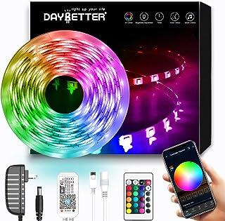DAYBETTER LED Strip Lights, Smart LED Lights 16.4ft...