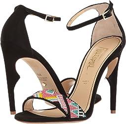 Malibu Beaded Ankle Strapped Heel