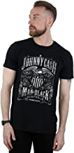 Johnny Cash Men's Nashville Label T-Shirt