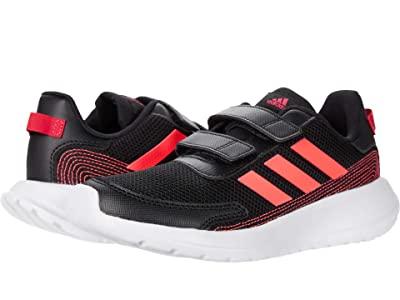 adidas Kids Tensaur Run C (Little Kid) (Black/Signal Pink/Power Pink) Girl