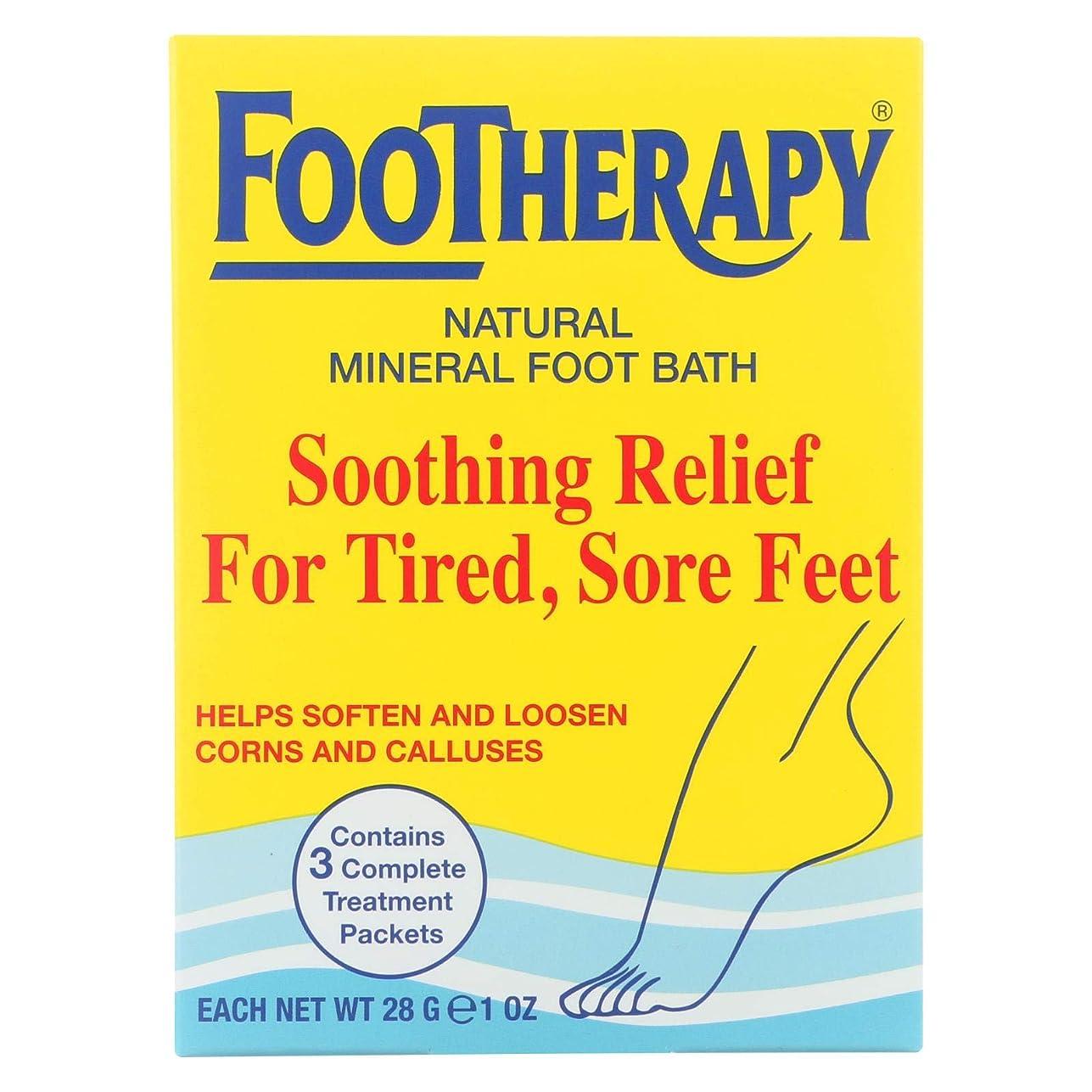 パズルファンブル落ち着いて海外直送肘 Footherapy Mineral Salts, 3 oz
