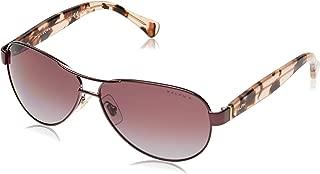 Women's 0ra4096 Polarized Aviator Sunglasses, ROSE, 59.0 mm