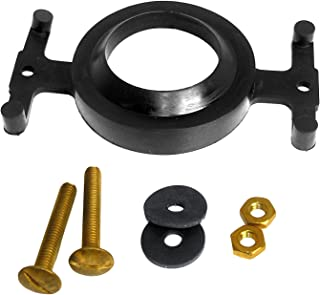 LASCO 04-3817 Eljer Tank to Bowl Bolt Set with Gasket, Solid Brass