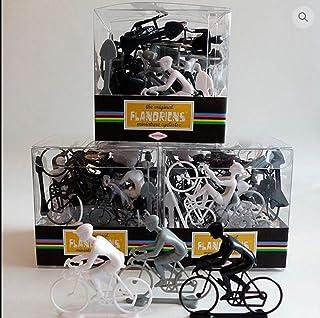 CAPRILO. Set de 20 Juguetes Decorativos de Plástico Ciclistas Juguetes y Juegos de Colección. Regalos Originales. Decoraci...