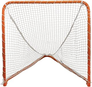 STX Lacrosse Folding Backyard Lacrosse Goal, Orange, 4 x 4-Feet