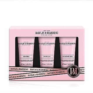 Baylis & Harding Jojoba, Vanilla & Almond Oil 3 Hand Cream Set, 0.3 kilograms