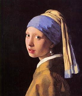 The Museum Outlet–La Jeune Fille à la perle par Vermeer–Toile (61x 81,3cm)