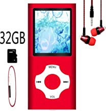 MP3 Player / MP4 Player, Hotechs MP3 Music Player with 32GB Memory SD Card Slim Classic Digital LCD 1.82'' Screen Mini USB Port with FM Radio, Voice Record photo