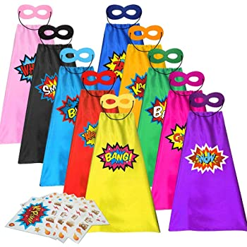 with Masks for Party Standie 5 PCS Costumes Set for Children or Boys Aged 3