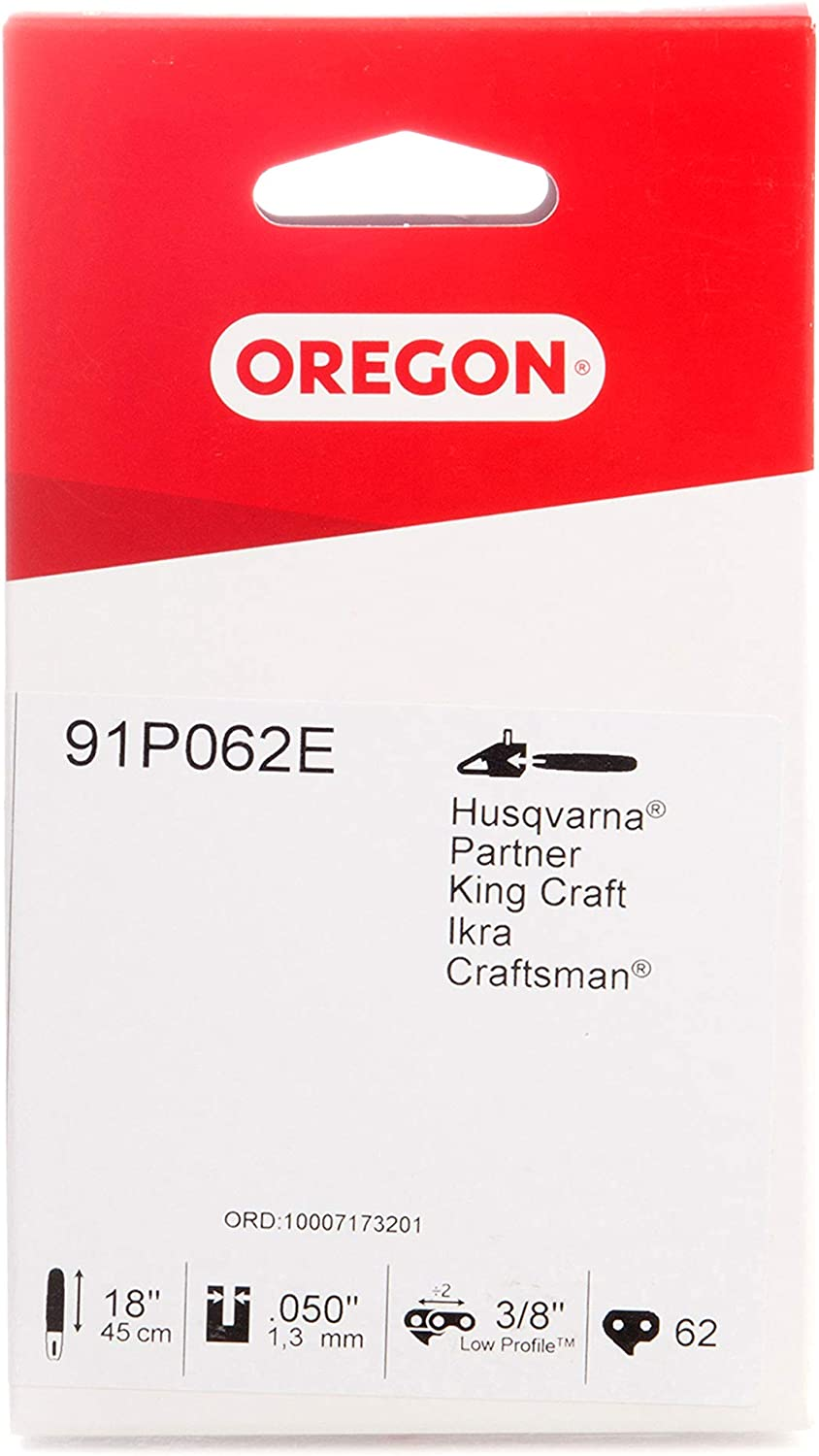 OREGON 91P 62 In stock Links 3 8'' Low-Kickback 18 Max 78% OFF 050 Chain for Chainsaw