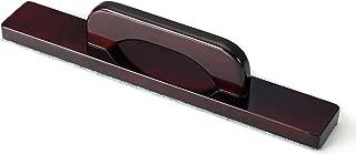 Hathaway Shuffleboard Brush, Dark Cherry Finish