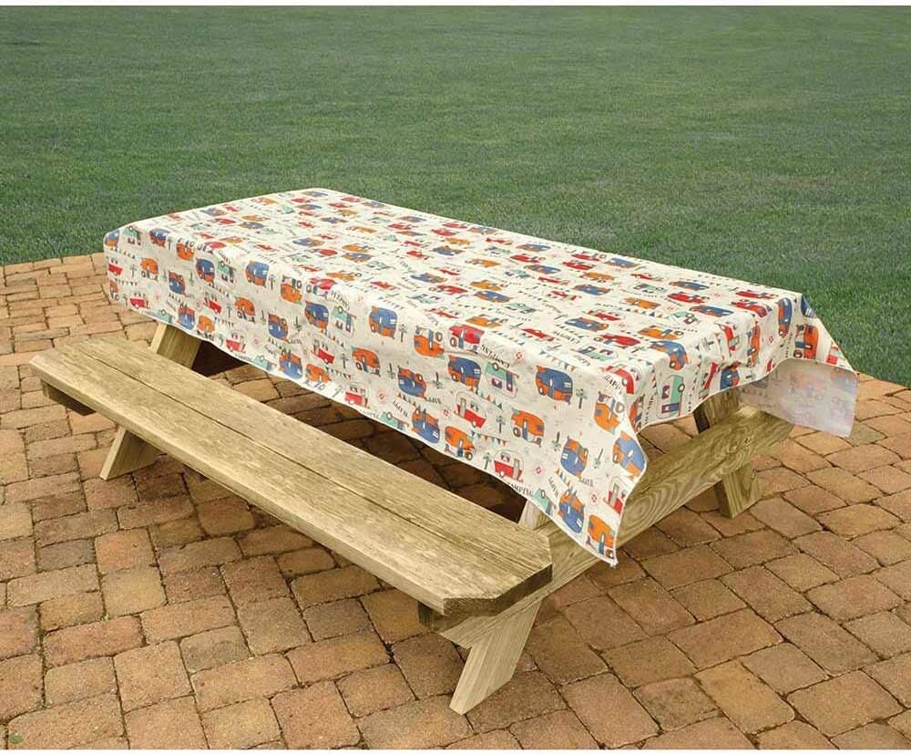 Bowery Direcsource New color Ltd Trails Camping Easy-to-use Tablecloth
