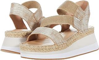 Donald J Pliner Women's Wedge Sandal, Natural, 6