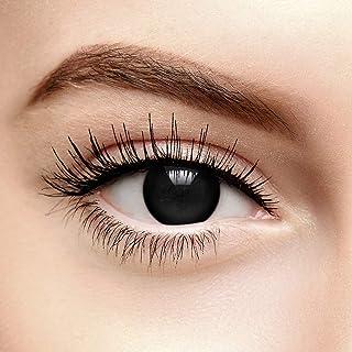6309faee80 Lentes De Contacto De Color Negro Blind Halloween (90 Días)
