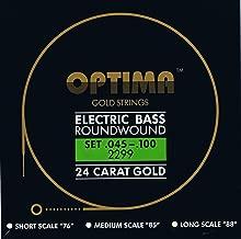Optima 24K Gold Bass Strings (45-100)