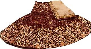 Maroon velvet Wedding Designer Heavy Zari Bridal Collection Lehenga Chaniya Choli Dupatta Custom to Measure Indian Ethnic Wear 2834