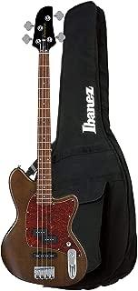 Ibanez TMB100 Talman Bass Walnut Flat and IBB101BK Gig Bag Bundle