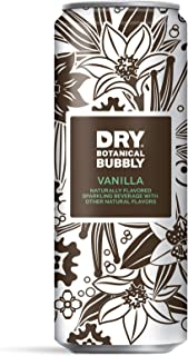 DRY Non-Alcoholic Vanilla Botanical Bubbly I 4 Clean Ingredients I Delicious Way to Be Sober & Social I Zero Proof Mocktai...