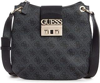 Guess Womens Logo Luxe Mini Tourist Crossbody Handbag