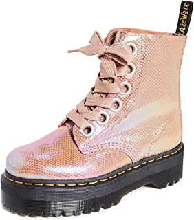 womens dr martens pascal 8 eye metallic boot