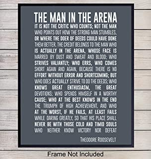 Best the man in the arena framed picture Reviews