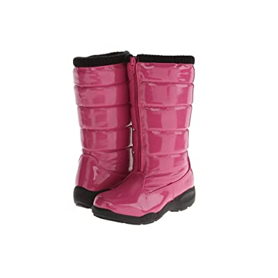 Tundra Boots Kids Puffy (Little Kid/Big Kid) (Fuchsia) Girls Shoes