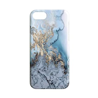 Covery Cases Blue Marble Back Cover For Apple IPhone 7 - Multi Color