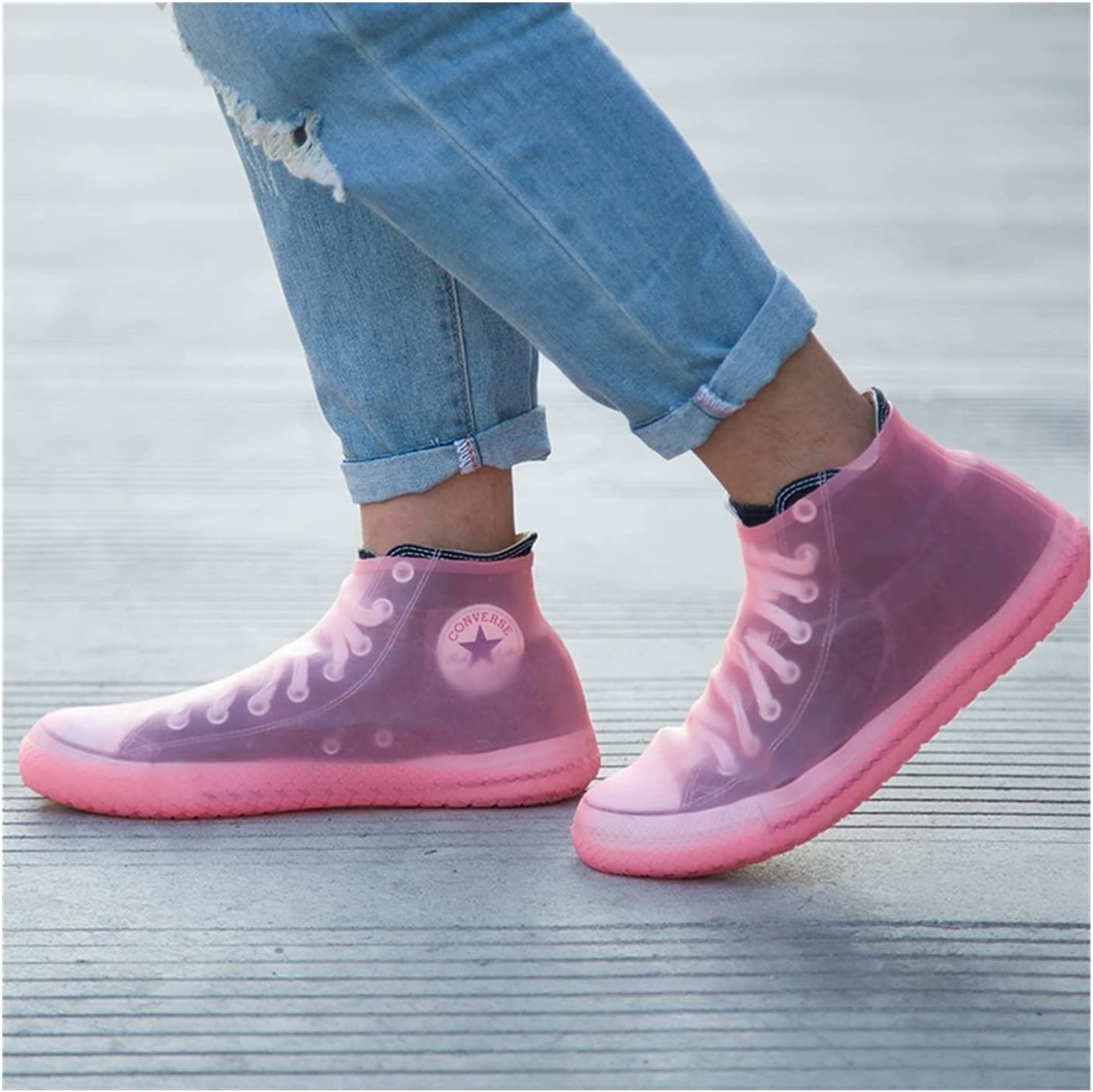 Shoes Cover Women Man Integral High Waterproof Special sale item Mould Popular brand in the world Ra Reusable