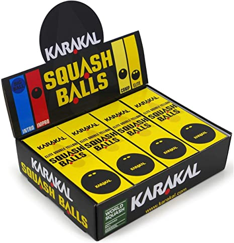 All Types inc Variety Pack Chonor Squash Balls Sports Rubber Balls Professional Player Competition Squash Accessories