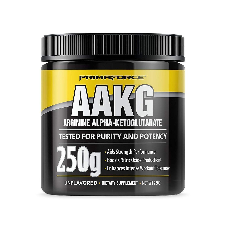 ピカソもろいこっそりPrimaforce AAKGパウダー(アルギニンアルファケトグルタル酸)2000mg[125回分/250g][海外直送品]
