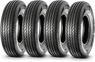 Set of 4 Radial DOT Trailer Tires 235/85R16 ST23585R16 10PR/Load Range E 125L