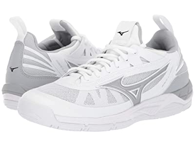 Mizuno Wave Luminous (White/Silver) Women