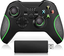 Best VOYEE Controller Replacement for Microsoft Xbox One Controller, Enhanced Wireless Controller Compatible with Microsoft Xbox One/One S/One X/One Elite/PC Windows 10 - Black [2020 Upgraded Version] Review