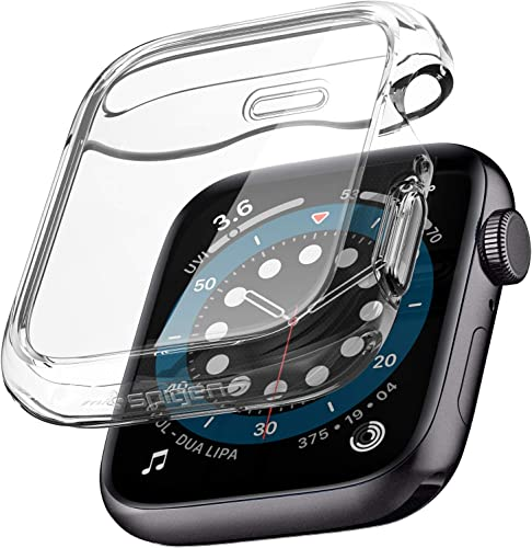 Spigen Ultra Hybrid Back Cover Case Designed For Apple Watch Series 5 Series 4 40Mm Crystal Clear