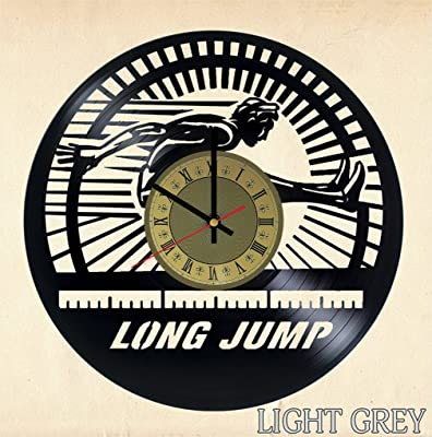 Long jump Vinyl Clock | Olympic Games | Best Gift for Athletics Fans | Original Wall