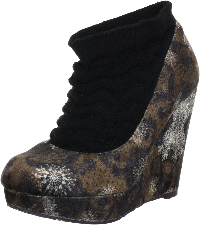 Desigual Women's Marta Pump, Lime Mustang shoes