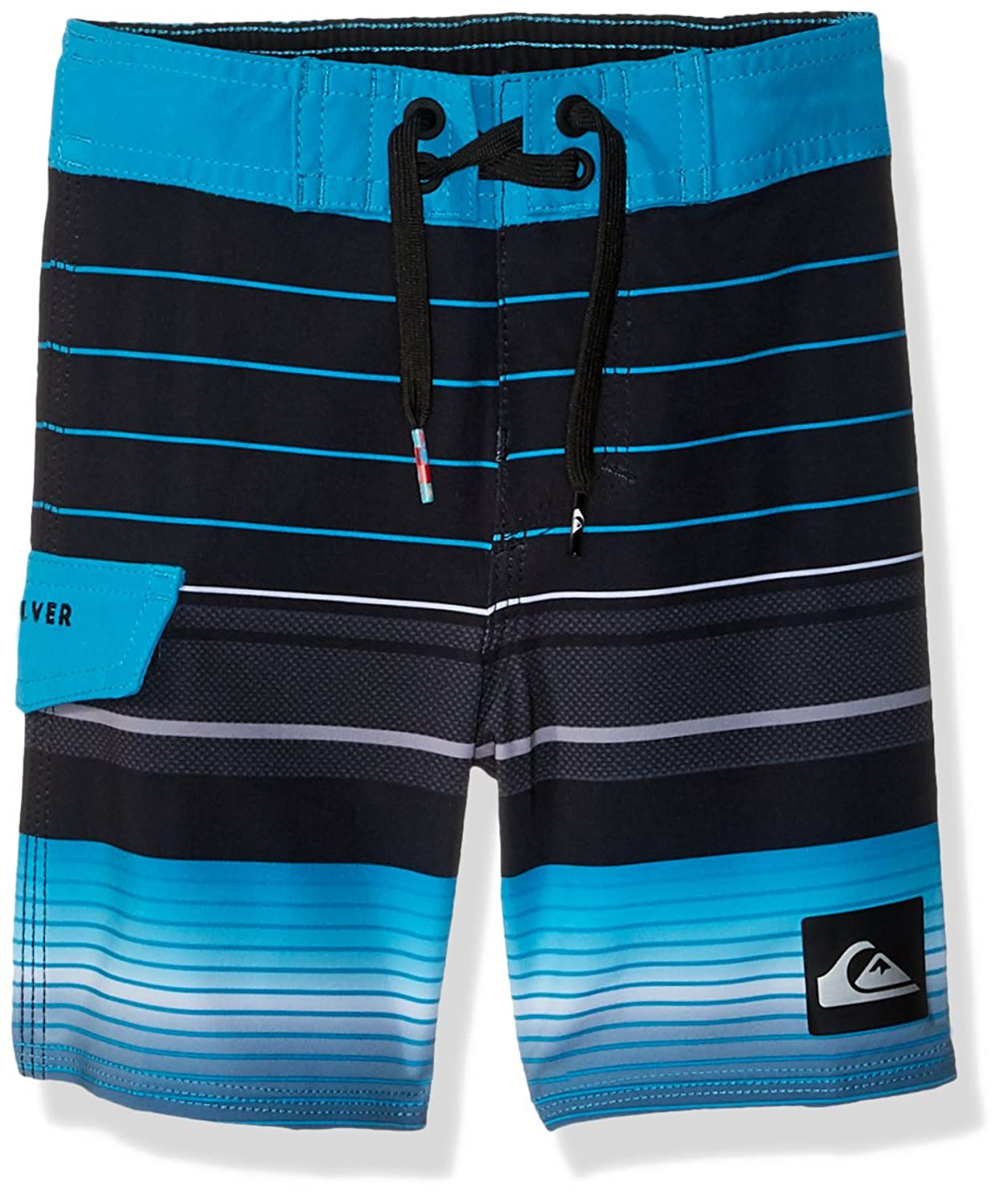 Quiksilver Boys Highline Swell Vision Youth 19 Black Boardshort Size 23-10S