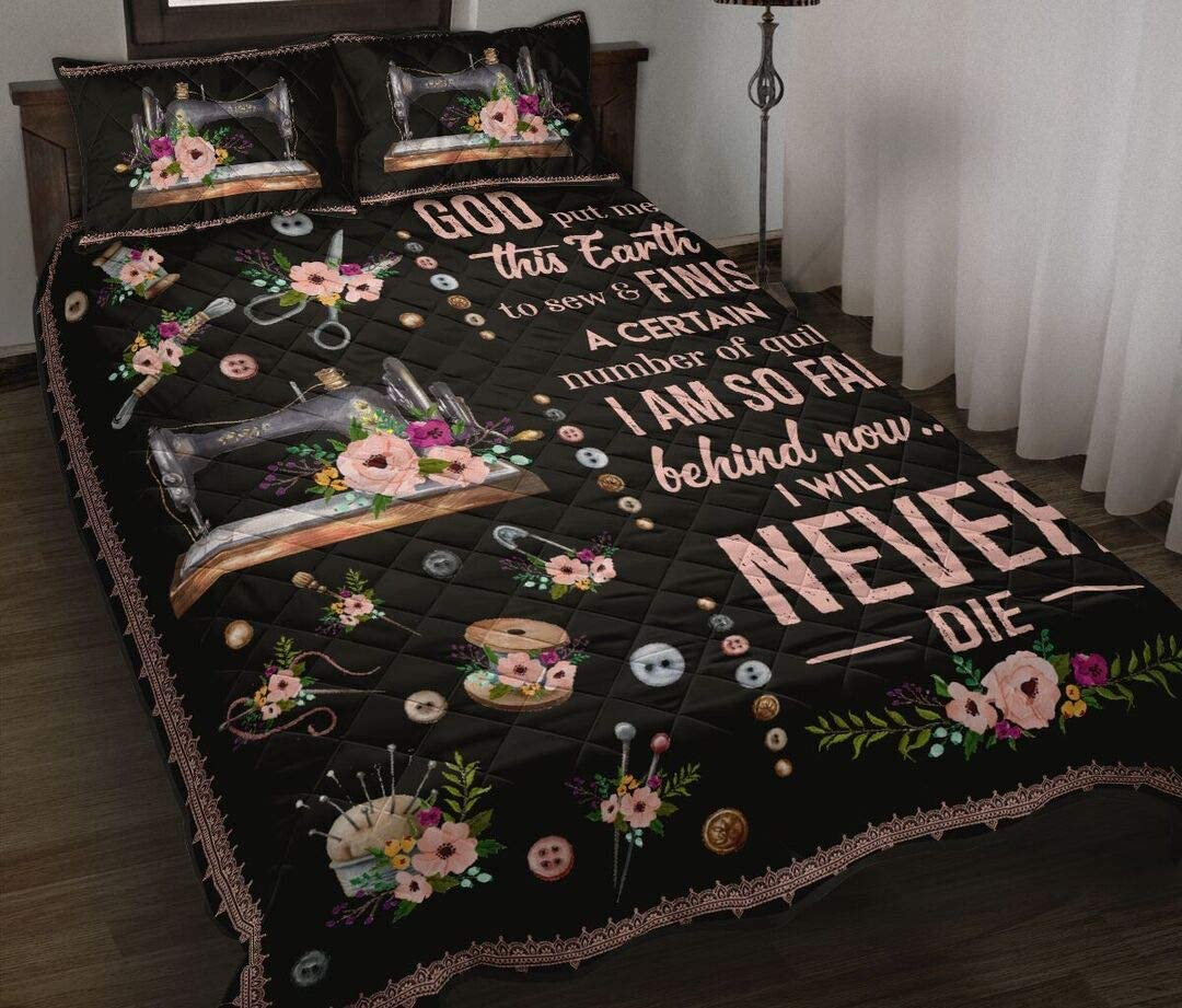 Personalized Max 80% OFF I Will Never Die Quilting Max 77% OFF Que and Quilt Sewing King