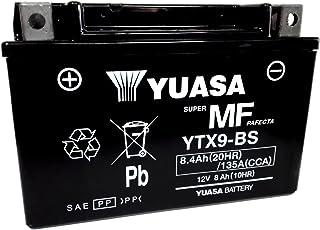 Yuasa - Batería YTX9-BS de 12V, 8Ah, para Kawasaki Z ABS 750,desde 2007 hasta 2012