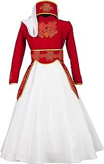 Armenian costume women wedding dress traditional wear Armenia clothing