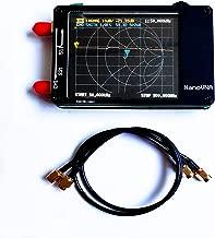 Hima for Nanovna Vector Network Analyzer HF VHF UHF UV VNA Antenna Analyzer 50Khz-900Mhz+2.8''LCD + Battery, Measuring S-Parameter Voltage Standing Wave Ratio, Phase, delay, Smith Chart